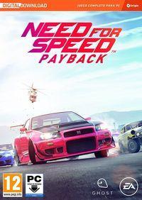 Portada oficial de Need for Speed Payback para PC