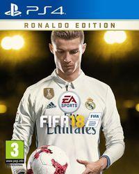 Portada oficial de FIFA 18 para PS4