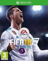 Portada oficial de FIFA 18 para Xbox One