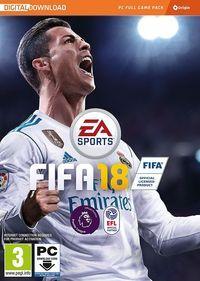Portada oficial de FIFA 18 para PC
