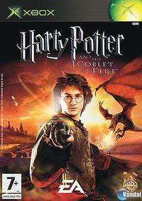 Portada oficial de Harry Potter and the Goblet of Fire para Xbox
