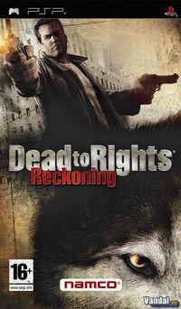 Portada oficial de Dead to Rights: Reckoning para PSP