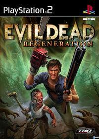 Portada oficial de Evil Dead Regeneration para PS2