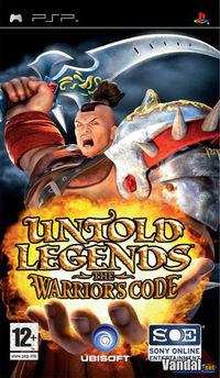 Portada oficial de Untold Legends: The Warrior's Code para PSP