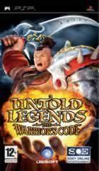 Portada oficial de de Untold Legends: The Warrior's Code para PSP