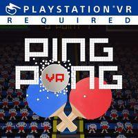 Portada oficial de VR Ping Pong para PS4