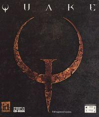 Portada oficial de Quake para PC