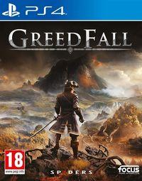 Portada oficial de GreedFall para PS4
