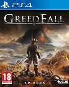Portada oficial de de GreedFall para PS4