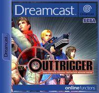 Portada oficial de OutTrigger para Dreamcast