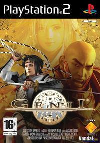 Portada oficial de Genji para PS2