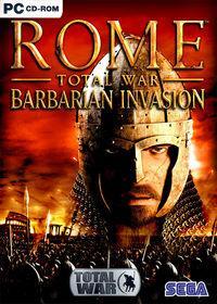Portada oficial de Rome: Total War Barbarian Invasion para PC