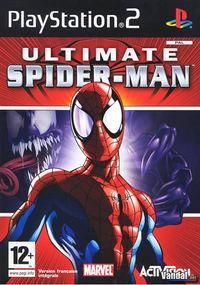 Portada oficial de Ultimate Spider-Man para PS2