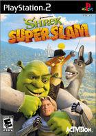 Portada oficial de de Shrek Superslam para PS2