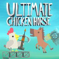 Portada oficial de Ultimate Chicken Horse para PS4