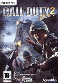 Portada oficial de Call of Duty 2 para PC