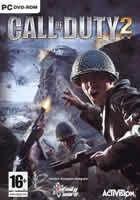 Portada oficial de de Call of Duty 2 para PC