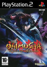 Portada oficial de Onimusha: Dawn of Dreams para PS2
