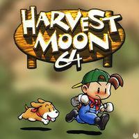 Portada oficial de Harvest Moon 64 CV para Wii U