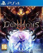 Portada oficial de de Dungeons 3 para PS4