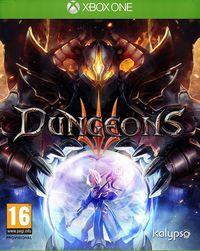 Portada oficial de Dungeons 3 para Xbox One