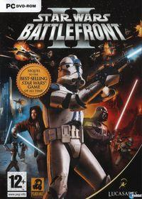 Portada oficial de Star Wars: Battlefront 2 (2005) para PC