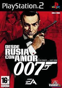 Portada oficial de James Bond: Desde Rusia con Amor para PS2