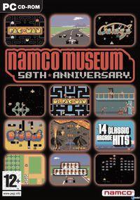 Portada oficial de Namco Museum 50th Anniversary para PC