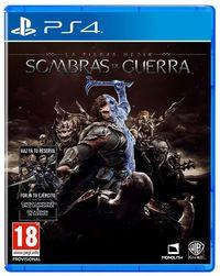 Portada oficial de La Tierra Media: Sombras de Guerra para PS4