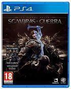 Portada oficial de de La Tierra Media: Sombras de Guerra para PS4