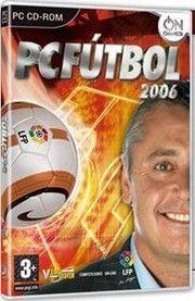 Portada oficial de PC Fútbol 2006 para PC