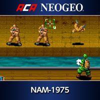 Portada oficial de Arcade Archives Neo Geo NAM-1975 para PS4