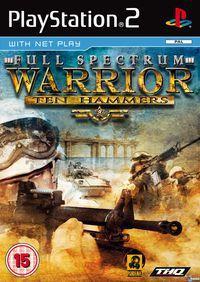 Portada oficial de Full Spectrum Warrior: Ten Hammers para PS2