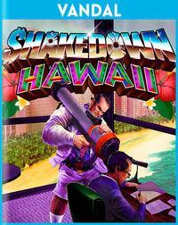 Portada oficial de Shakedown: Hawaii para PS4