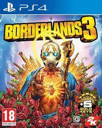 Portada oficial de Borderlands 3 para PS4