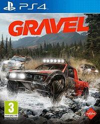 Portada oficial de Gravel para PS4
