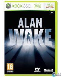 Portada oficial de Alan Wake para Xbox 360
