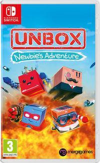 Portada oficial de Unbox: Newbie's Adventure para Switch