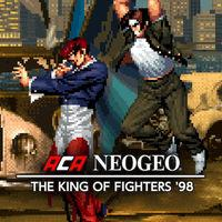 Portada oficial de NeoGeo The King of Fighters '98 para Switch