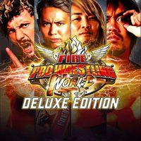 Portada oficial de Fire Pro Wrestling World para PS4