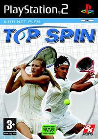 Portada oficial de Top Spin para PS2
