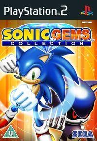 Portada oficial de Sonic Gems Collection para PS2