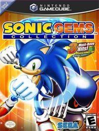 Portada oficial de Sonic Gems Collection para GameCube