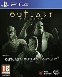 Portada oficial de Outlast Trinity para PS4