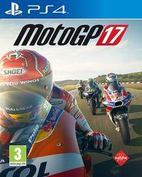 Portada oficial de MotoGP 17 para PS4