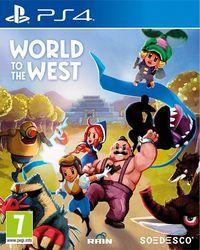 Portada oficial de World to the West para PS4