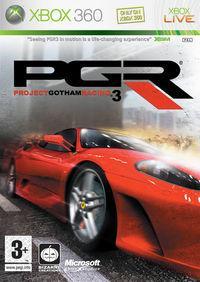 Portada oficial de Project Gotham Racing 3 para Xbox 360