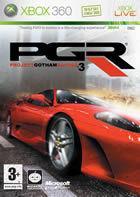 Portada oficial de de Project Gotham Racing 3 para Xbox 360