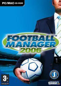 Portada oficial de Football Manager 2006 para PC