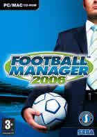 Portada oficial de de Football Manager 2006 para PC